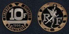 France : Rare 10 Francs 1996 Génie BE FDC Belle épreuve Top Qualité