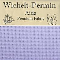 "Wichelt Imports PREMIUM Cross Stitch Fabric AIDA 14 ct 18"" x 25"" PEACEFUL PURPLE"