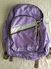 Vintage L.L.Bean Small Backpack Lavender with reflectors
