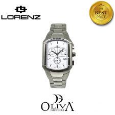 Lorenz Orologio Uomo Chronograph Montenapoleone 026089BB