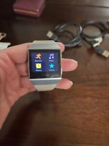Fitbit Ionic Activity Tracking - Gray/Silver with bands
