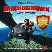 DRACHENZÄHMEN LEICHT GEMACHT CD HÖRSPIEL NEU