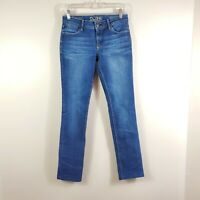DL1961 womens size 26 Grace high rise straight dark wash stretch denim jeans
