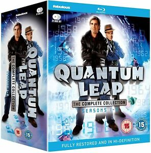 """QUANTUM LEAP COMPLETE SERIES COLLECTION BOX SET 22 DISC BLU-RAY RB """"NEW&SEALED"""""""