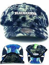 Chicago Blackhawks New Mitchell & Ness Denim Jean Blue Era Strapback Hat Cap