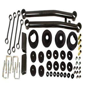 "Daystar KJ09177KV Black 2"" Lift Kit w/ Spacers/Sway Bar Links for Wrangler JL"