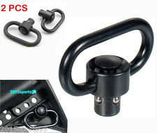 a Pair Universal QD Sling Swivel Quick Disconnect Single Point Sling Adapter