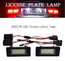 2*AUDI/VW A1/A4/A5/A6/A7/Q5/TTRS/RS5/PASSAT LED License Plate lamp Light White
