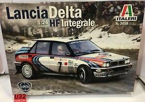 Italeri 3658 Kit 1/24 Lancia Delta HF Intégrale D.Auriol-B.occelli