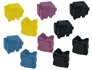 Full set of Xerox 8570 / 8580 Compatible ColorQube Solid Inks (10 Sticks)