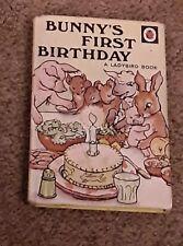 VINTAGE  LADYBIRD BOOK. BUNNYS FIRST BIRTHDAY   SERIES 401