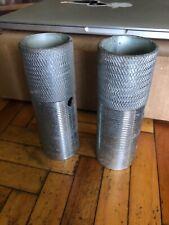 Knurled Steel 3/8 Threaded BMX Bike - Foot Pegs