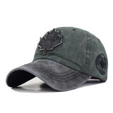 New Baseball Cap Canada Maple Leaf men Snapback Hat Adjustable Casual Dad Hat