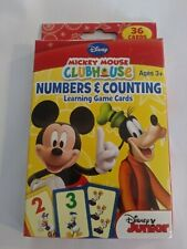 DISNEY MICKEY MOUSE CLUBHOUSE NUMBERS & COUNTING LEARNING CARDS