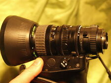 Fujinon tv T14 x 5.5 BRM 4 pro Video Lens servo zoom 14x japan f1.4 T14x5.5BRM4