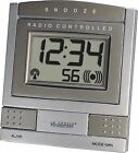 WT-2171U-BZ La Crosse Technology Atomic Digital Travel Alarm Clock - Bronze