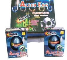 2 ALIEN WATCH THEM HATCH AND GROW EGGS novelty growing egg JUST ADD WATER magic