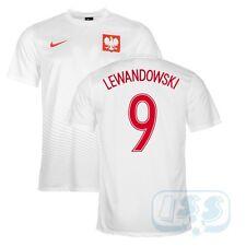 DPOL67: Polen LEWANDOWSKI 9 Supporters Nike Fan Trikot Frankreich EM 2016