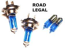 H7 Bombillas Xenon x2 55w 12v Legal Para Carretera & H6W Luz Lateral (