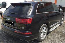 Audi Q7 2006-2015 MARCHEPIEDS EN ALUMINIUM Marche-Pieds - BARRES LATÉRALES