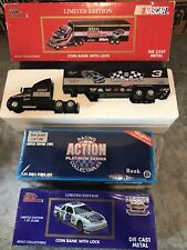 Limited Edition Coin Bank Lot Racing Champion New In box