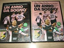 OPERA COMPLETA 2 DVD U.S. PALERMO CALCIO 2004/2005 UN ANNO DA SOGNO CONTROCAMPO
