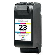 For HP #23 Tri-Color Cartridge For Deskjet 830 832 880 882 890 895 1120C PSC 500