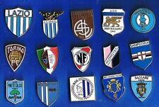15 pins ITALY football clubs pins metal badges football pins ITALY football