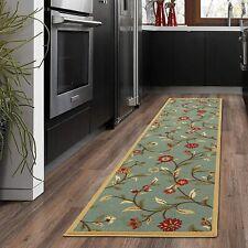 Hallway Kitchen Laundry Room Floral Area/Runner Rug Carpet Non Slip Floor Mat