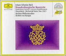 BACH / BRANDENBURG CONCERTOS - VON KARAJAN - DEUTSCHE GRAMMOPHON - (2) CD SET