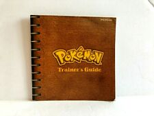 Pokemon Red Game Boy Color Instruction MANUAL ONLY Authentic VERY NICE