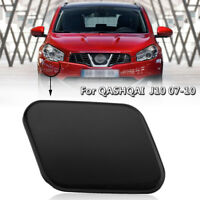 Right Headlight Washer Nozzle Jet Cover Cap For Nissan Qashqai 28858JD000 Black