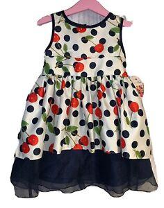 Girls Age 2-3 Years - BNWTS Sugar Plum Summer Dress