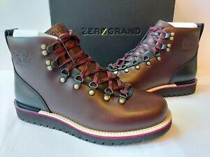 Cole Haan Grand Explore Alpine Leather Hiker Boots Mens 10 M Dark Brown $250