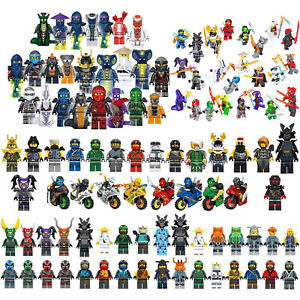 Lot 6/8/24 Ninjago Mini figurines Kai Jay Sensei Wu enfants blocs de constructio