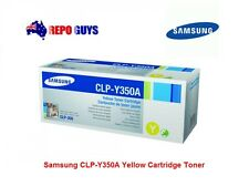 Samsung CLP-Y350A Yellow Toner Cartridge for CLP-350N - Brand New