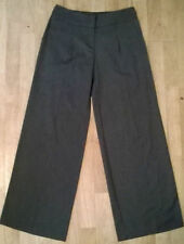 Marks and Spencer Wide Leg Wool Tailored Trousers for Women