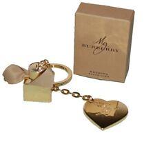 Burberry Heart & Mini Perfume Bottle Key Chain