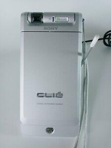 VTG Sony Clié Handheld Magic Gate Palm PEG-NX70V/U Bundle Charger Dock TESTED