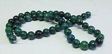 Stringa di 50 giada naturale tinto Round Gemstone Beads