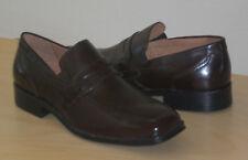 Donald J. Pliner loafers Kayn brown calfskin 13 Med NEW