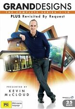 "Grand Designs Series Seasons 1, 2, 3, 4, 5, 6, 7, 8, 9, 10 DVD Box Set R4 ""Xmas"""