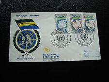 GABON - enveloppe 1er jour 9/2/1961 (cy29)