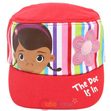 Disney Jr Doc Mcstuffins Dottie Kids Hat Grils Military Cap