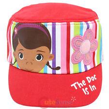 Disney Jr Doc Mcstuffins Dottie Kids Hat Grils Military Cap