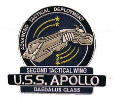 Stargate Atlantis U.S.S. Apollo Patch - Uniform Aufnäher
