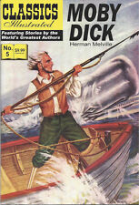 Modern Classics Illustrated Canadian Issue Moby Dick