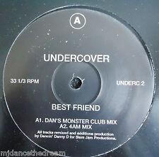 "UNDERCOVER ~ Best Friend ~ 12"" Single"