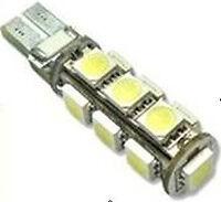 CANBUS NO ERRORE 2 LAMPADE POSIZIONI 13 LED SMD T10 W5W