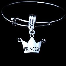 Princess bracelet princess bangle Daddy's little princess bracelet best daughter